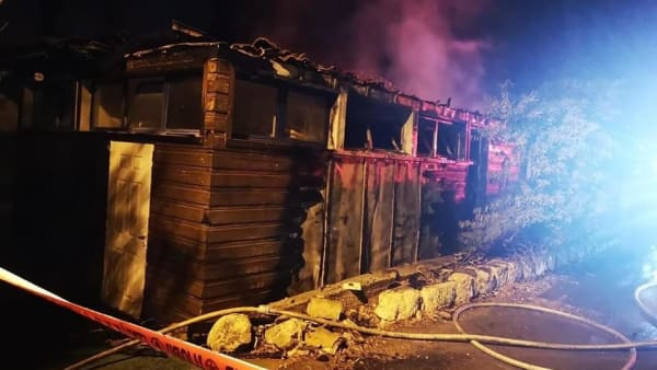 Devastating Fire Hits School For Peace